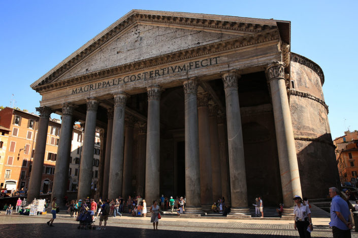 The Pantheon, Rome, Italy, 2013